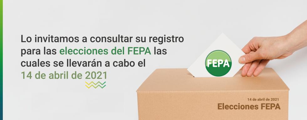 Elecciones FEPA 2021